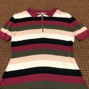 Candie's Striped Blouse